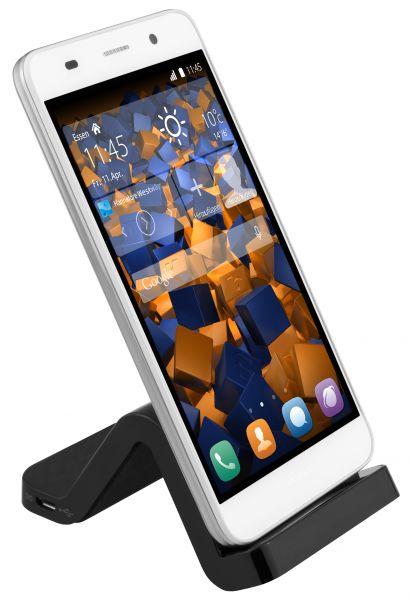 Dockingstation + Datenkabel für Huawei P Smart / P9 Lite / P8 / P8 Lite (2015)/ Mate 8+7 / Y6 / Hono