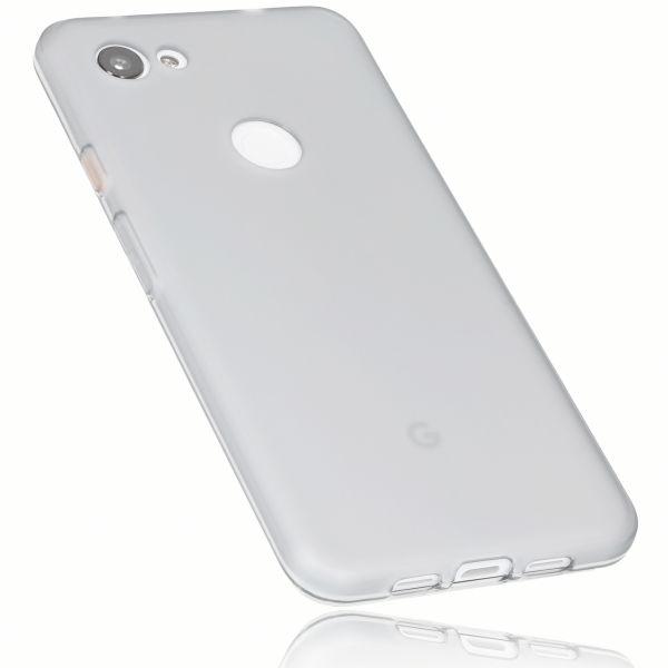 TPU Hülle weiß transparent für Google Pixel 3a