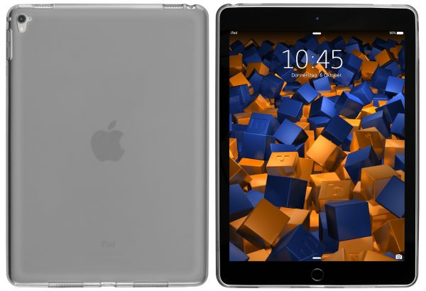 TPU Hülle schwarz transparent für Apple iPad Pro (9,7 Zoll)