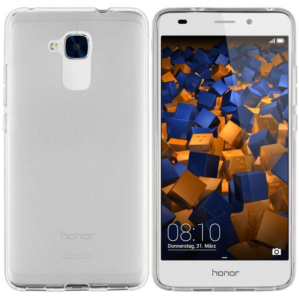 TPU Hülle weiß transparent für Huawei Honor 5C