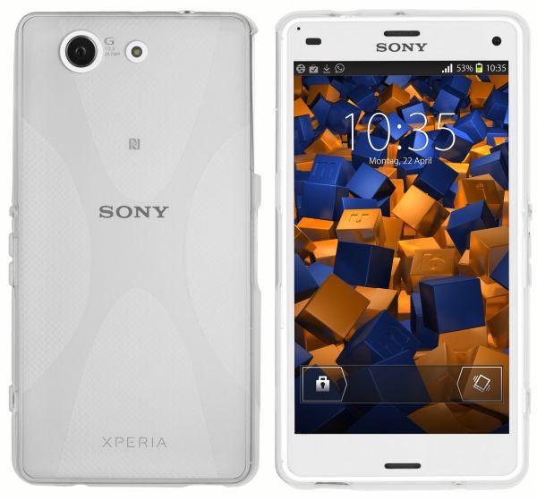 TPU Hülle X-Design weiß transparent für Sony Xperia Z3 Compact
