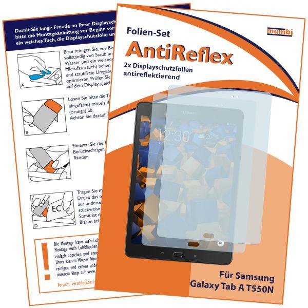 Displayschutzfolie 2 Stck. AntiReflex für Samsung Galaxy Tab A (9.7 Zoll)