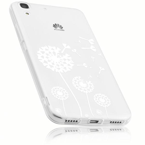 TPU Hülle transparent Motiv Pusteblume für Huawei Y6 (2015)