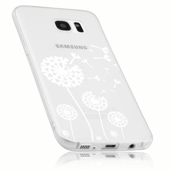 TPU Hülle transparent Motiv Pusteblume für Samsung Galaxy S7 Edge
