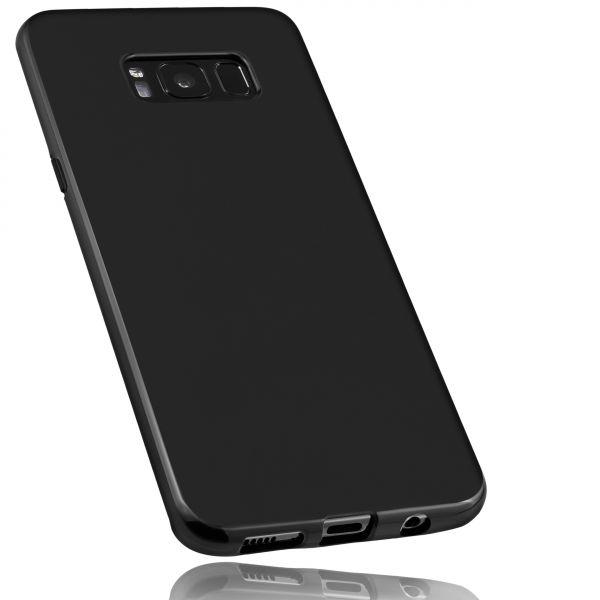 TPU Hülle schwarz für Samsung Galaxy S8 Plus