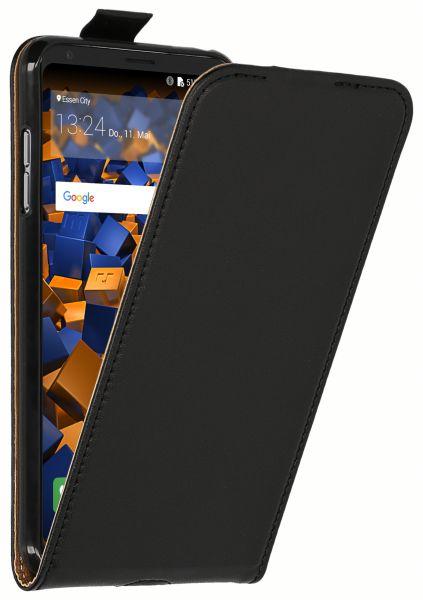 Flip Case Tasche schwarz für LG V30 / V30S ThinQ