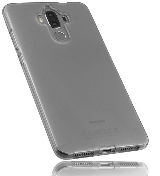 TPU Hülle schwarz transparent für Huawei Mate 9