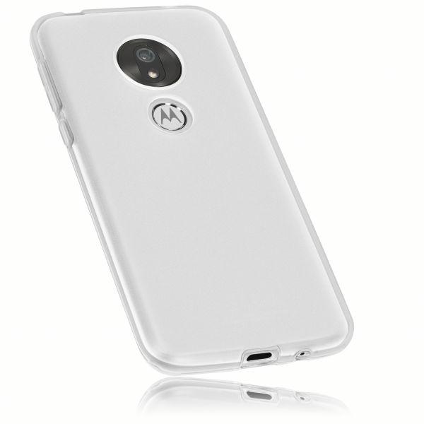 TPU Hülle weiß transparent für Motorola Moto G7 Play