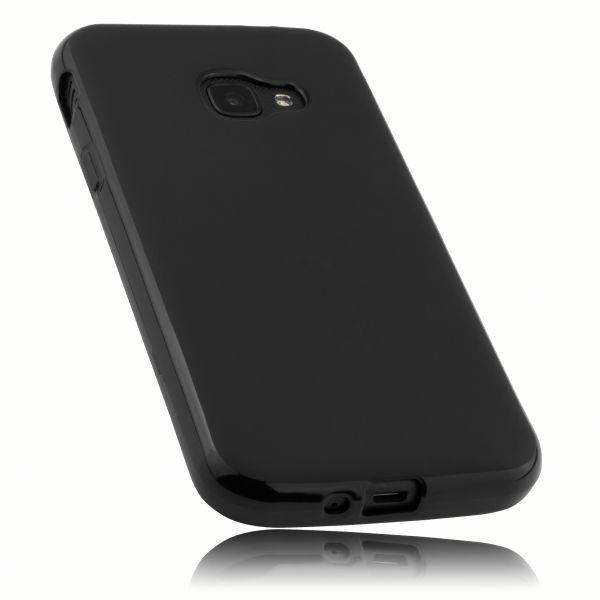 TPU Hülle schwarz für Samsung Galaxy Xcover 4