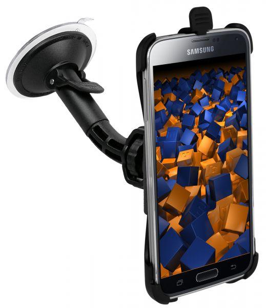 KFZ Halterung Schale aufstellbar für Samsung Galaxy S5 / S5 Neo
