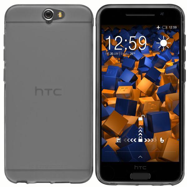 TPU Hülle schwarz transparent für HTC One A9