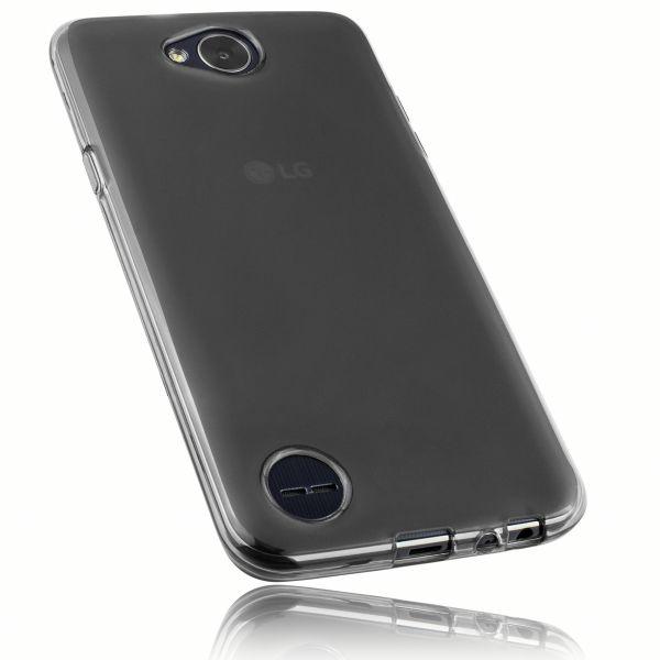 TPU Hülle schwarz transparent für LG X Power 2
