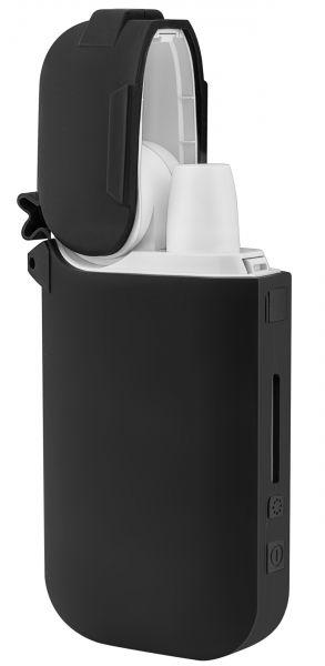 Silikon Schutzhülle schwarz für IQOS Pocket Charger