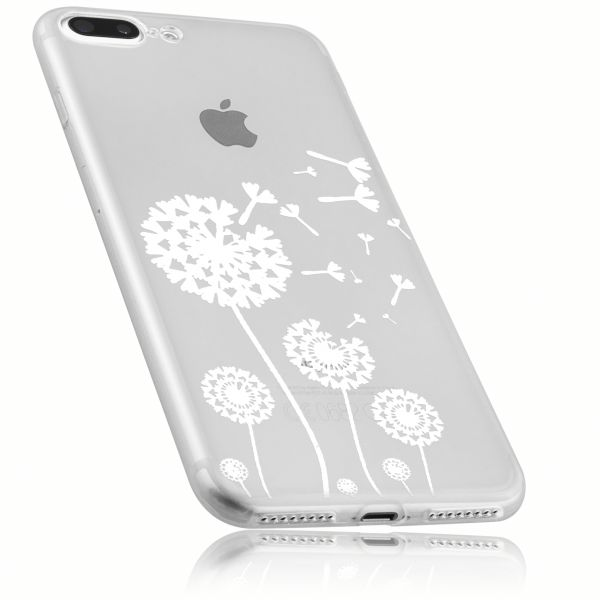 TPU Hülle transparent Motiv Pusteblume für Apple iPhone 8 Plus / 7 Plus