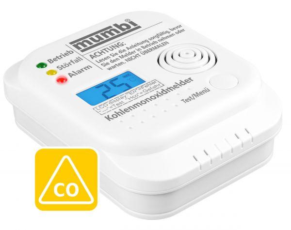 Kohlenmonoxid CO Melder CM100 für Räume ≤ 40m² in Weiß LM-201A