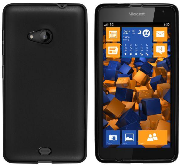 TPU Hülle schwarz für Microsoft Lumia 535