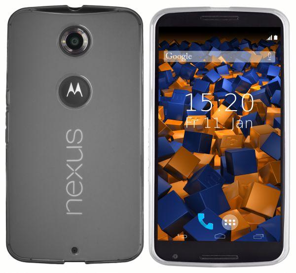 TPU Hülle weiß transparent für Motorola Google Nexus 6