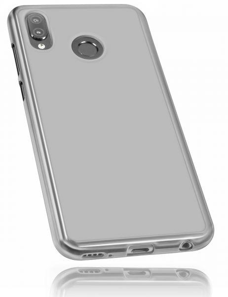 TPU Hülle weiß transparent für Huawei Honor Play