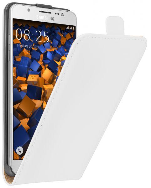 Flip Case Tasche weiß für Samsung Galaxy J5 (2016)