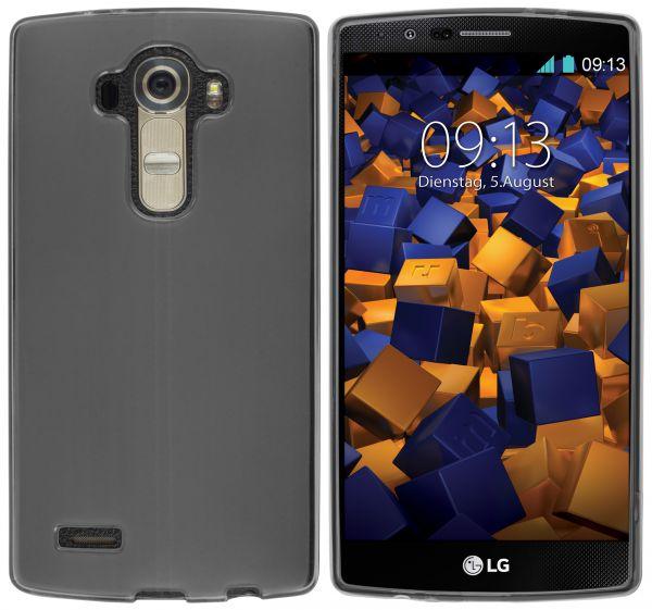TPU Hülle schwarz transparent für LG G4