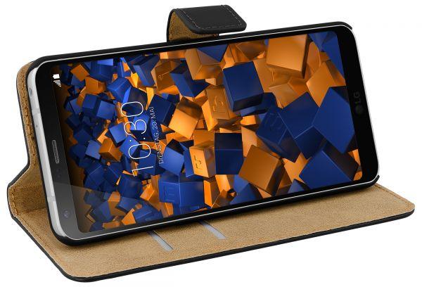 Bookstyle Tasche schwarz für LG G6