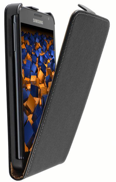 Flip Case Tasche schwarz für Samsung Galaxy Note N7000