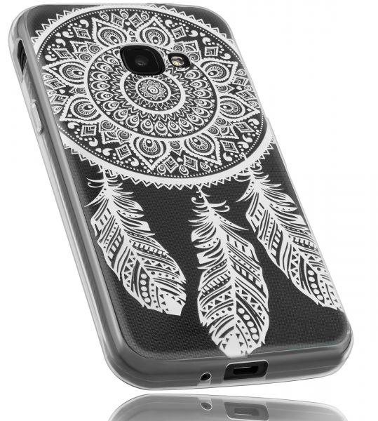 TPU Hülle transparent Motiv Traumfänger für Samsung Galaxy Xcover 4