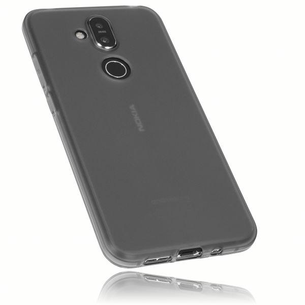TPU Hülle schwarz transparent für Nokia 8.1