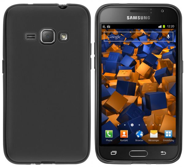 TPU Hülle schwarz für Samsung Galaxy J1 (2016)