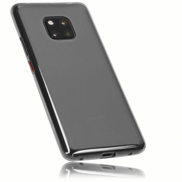 TPU Hülle schwarz transparent für Huawei Mate 20 Pro