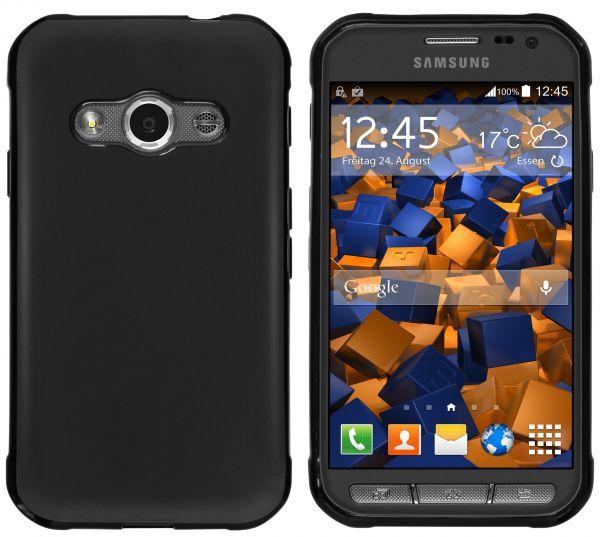 TPU Hülle schwarz für Samsung Galaxy Xcover 3