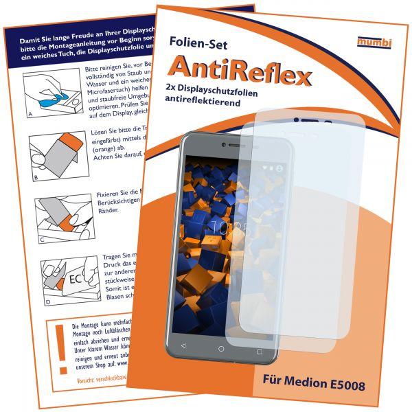 Displayschutzfolie 2 Stck. AntiReflex für Medion E5008