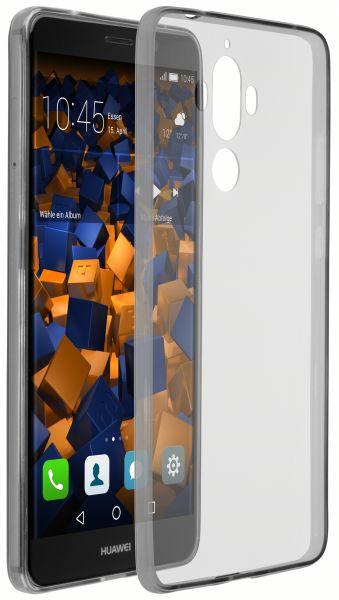 TPU Hülle Ultra Slim schwarz transparent für Huawei Mate 9