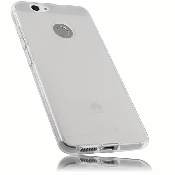 TPU Hülle weiß transparent für Huawei Nova