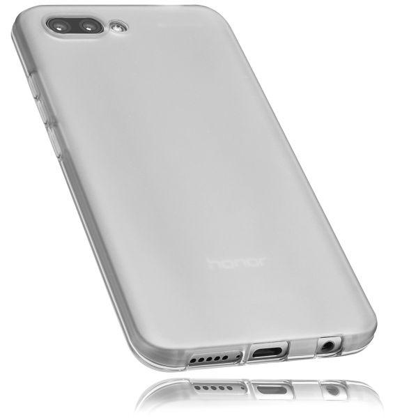 TPU Hülle weiß transparent für Huawei Honor 10