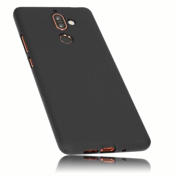 TPU Hülle schwarz für Nokia 7 Plus