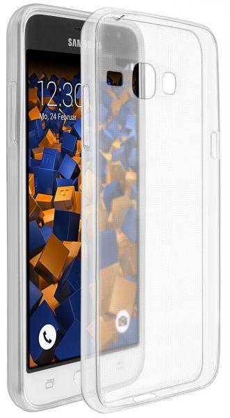 TPU Hülle Ultra Slim transparent für Samsung Galaxy J3 (2016)