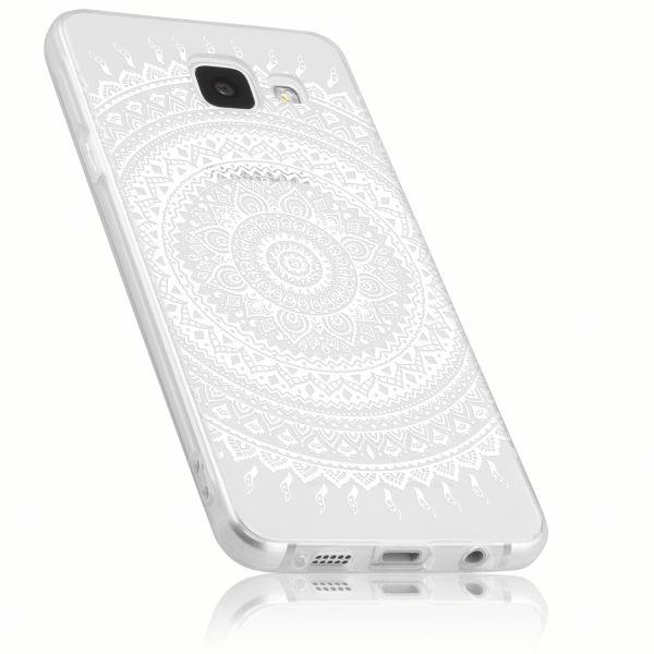 TPU Hülle transparent Motiv Mandala für Samsung Galaxy A3 (2016)