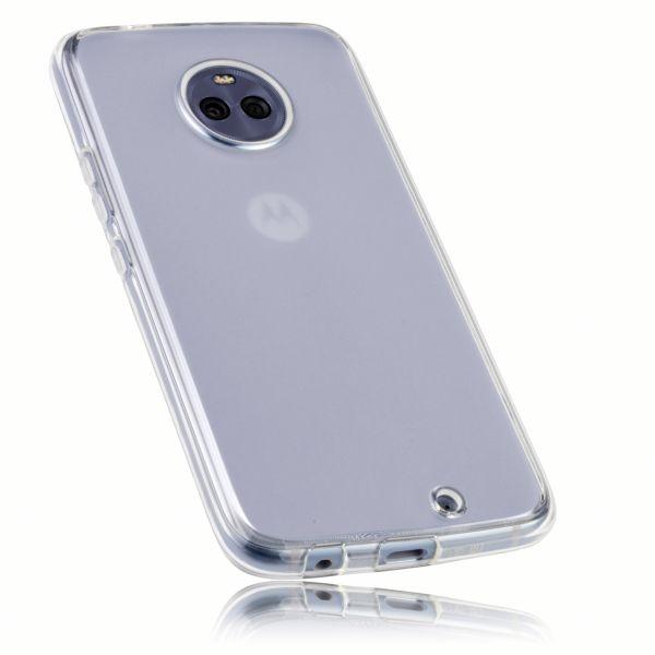 TPU Hülle weiß transparent für Motorola Moto X4