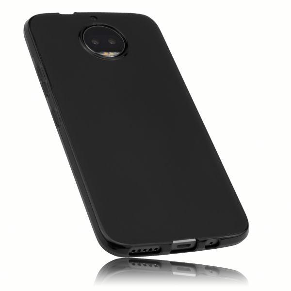 TPU Hülle schwarz für Motorola Moto G5S Plus