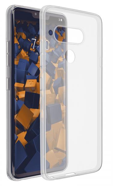 TPU Hülle Ultra Slim transparent für LG V40 ThinQ