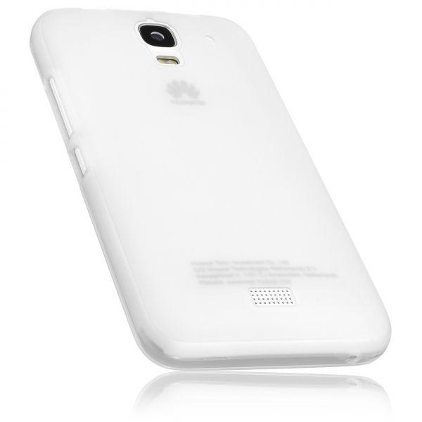 TPU Hülle transparent weiß für Huawei Y3