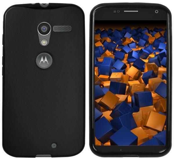 TPU Hülle schwarz für Motorola Moto X
