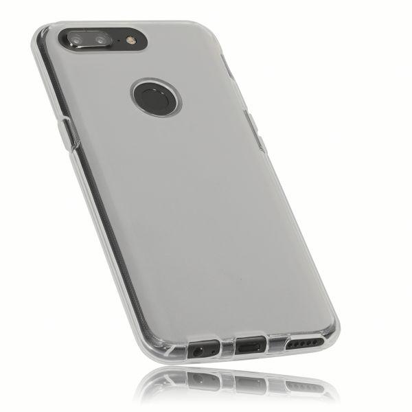 TPU Hülle weiß transparent für OnePlus 5T