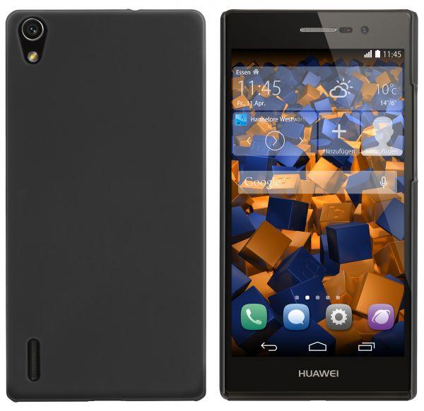 Hard Case Hülle schwarz für Huawei Ascend P7