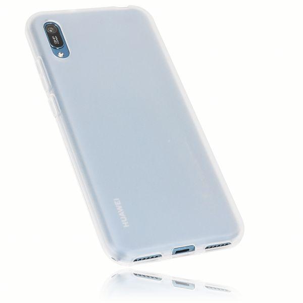 TPU Hülle weiß transparent für Huawei Y6 (2019)