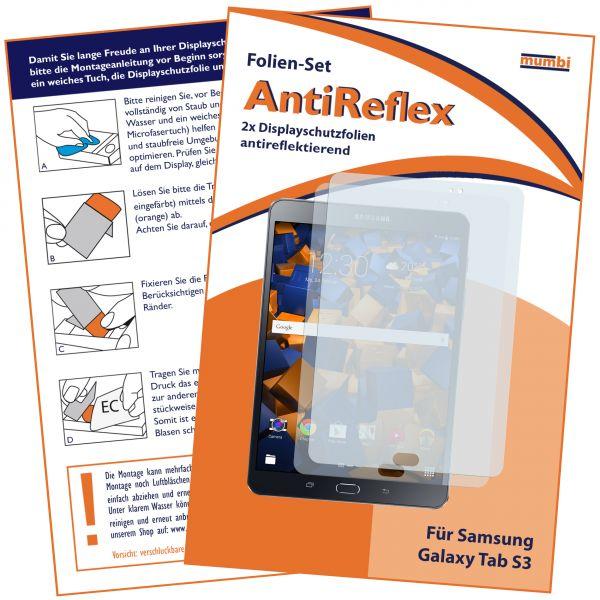 Displayschutzfolie 2 Stck. AntiReflex für Samsung Galaxy Tab S3