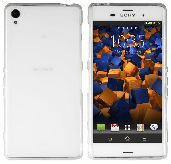 TPU Hülle weiß transparent für Sony Xperia Z3 / Z3 Dual