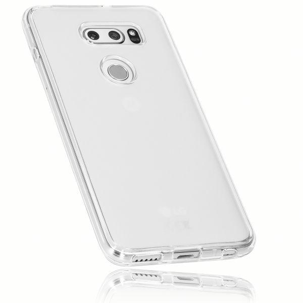 TPU Hülle weiß transparent für LG V30 / V30S ThinQ