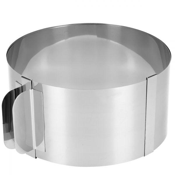 Tortenring Edelstahl für von 15-30 cm